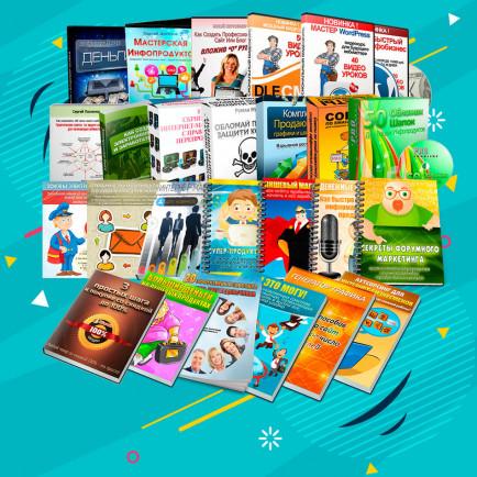 Комплект продающей графики для 33 Курсов + Права Перепродажи